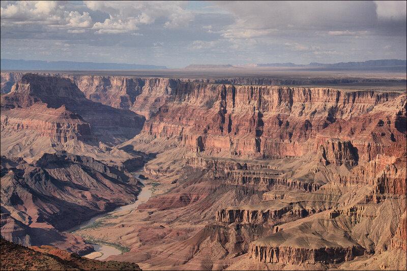 И опять Гранд каньон....широта земли Американской...