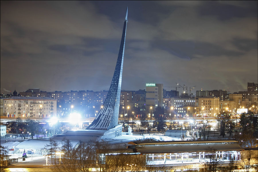 Мемориальный музей космонавтики и обелиск Покорителям космоса