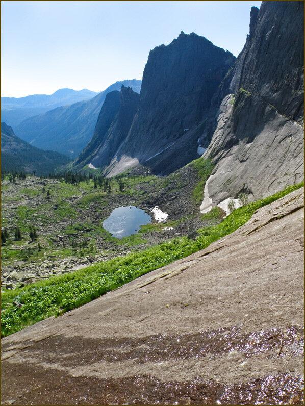 Долина Тайгишонка сверху