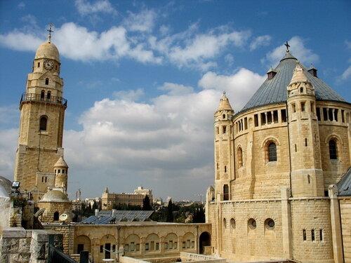 Камень преткновения между Израилем и Ватиканом Аббатство и церковь Дормицион