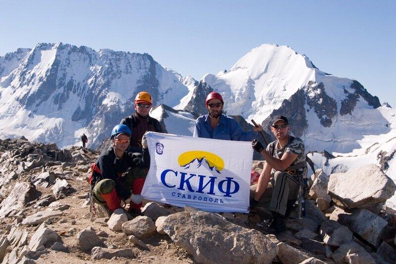 Сборы в альплагере Уллу-Тау. Июль 2007 года
