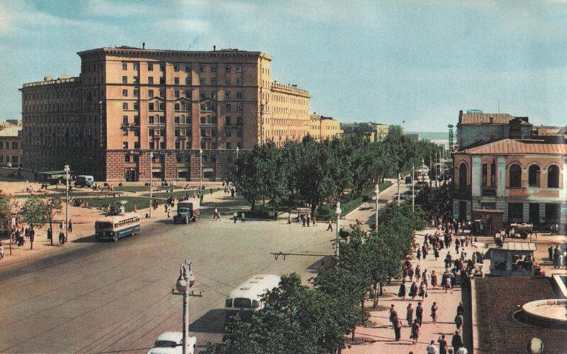 Исторические фотографии Новосибирска времен СССР