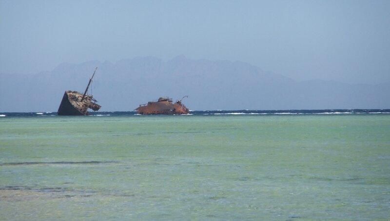 Фотогенічні руїни корабля
