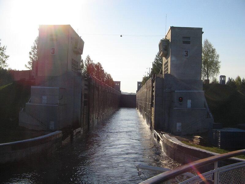 Шлюзы Новинкинской лестницы, Волго-Балтийский канал