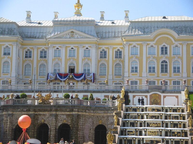 Петергоф. Праздник открытия фонтанов
