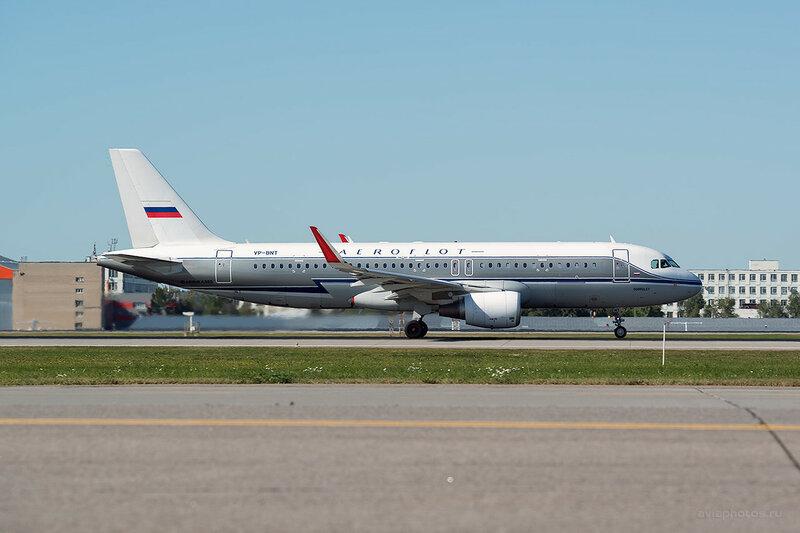 Airbus A320-214 (VP-BNT) Аэрофлот D800625