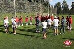 Открытая тренировка Спартака перед матчем с Рубином