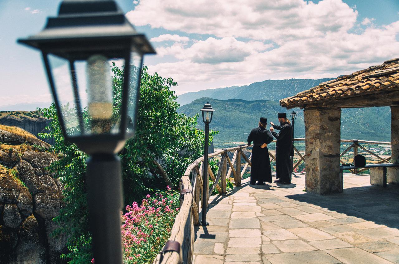 Преображенский монастырь, Метеоры, Греция, Великий Метеор