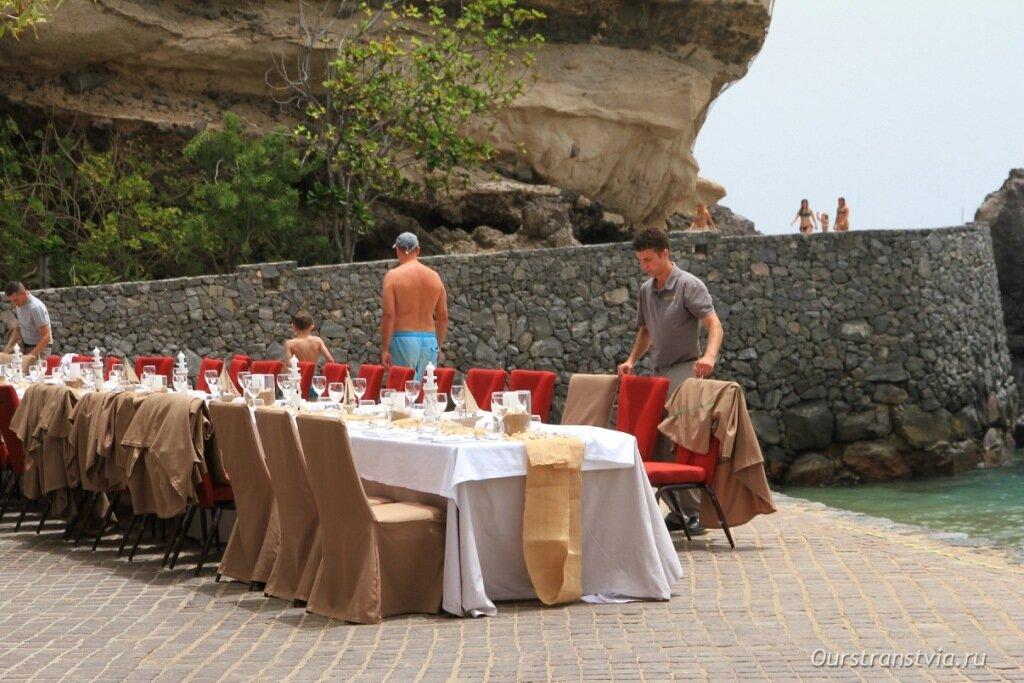 Организация праздников на пляже Абама, юг Тенерифе