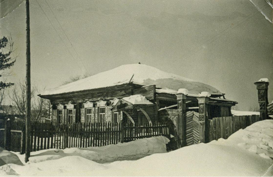 Дом в районном центре. Даурск