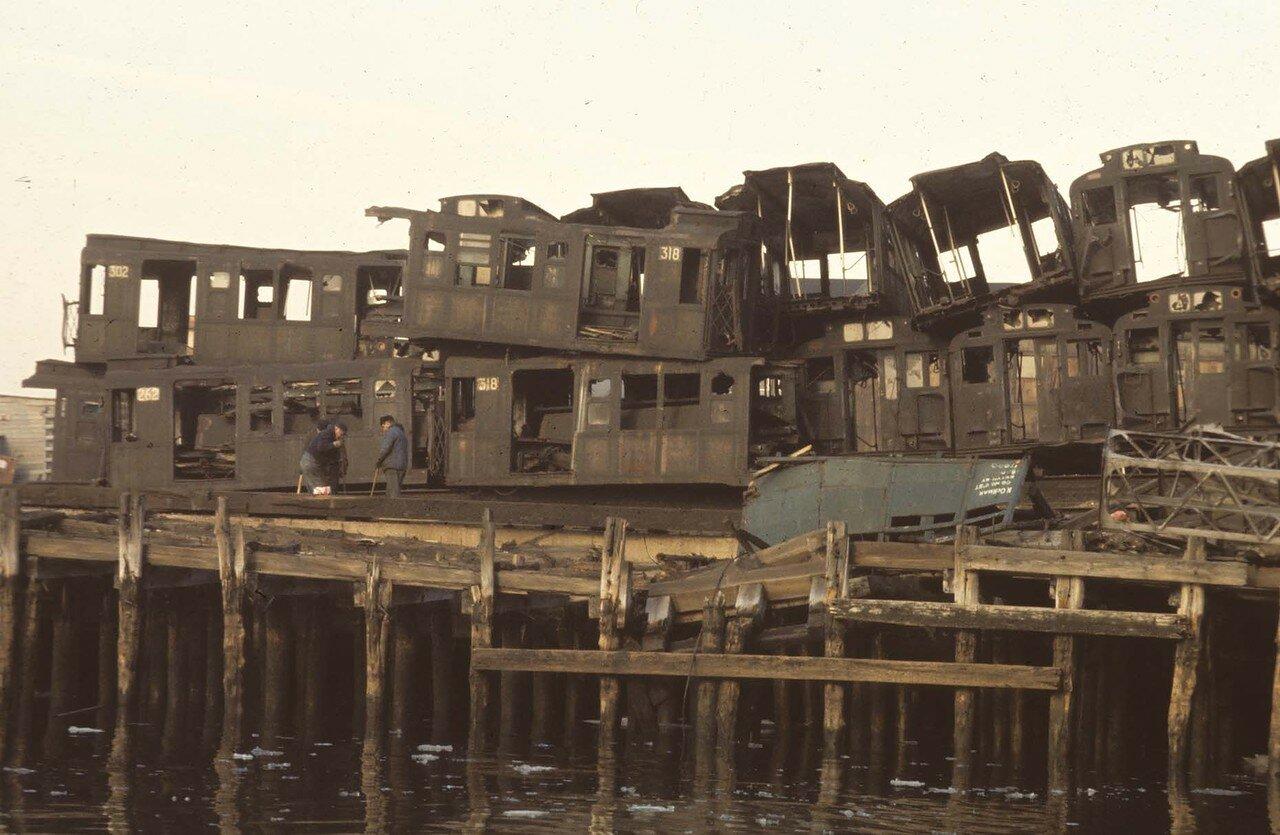 Южный Бруклин. Пирс. 1970.