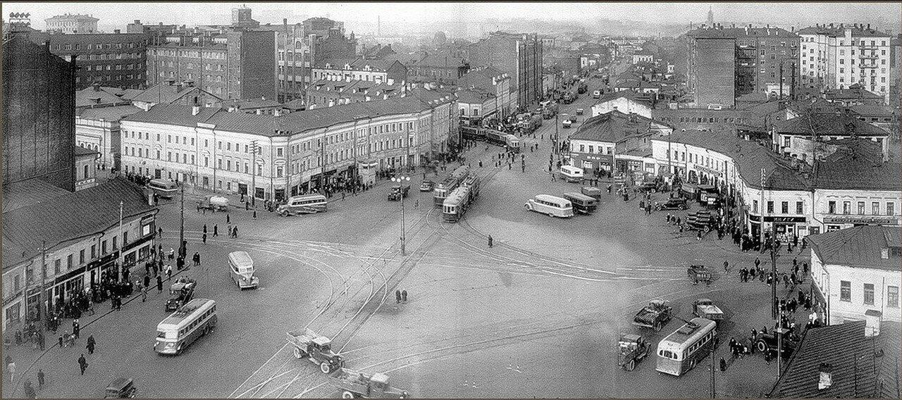 1941. Большая Серпуховская площадь