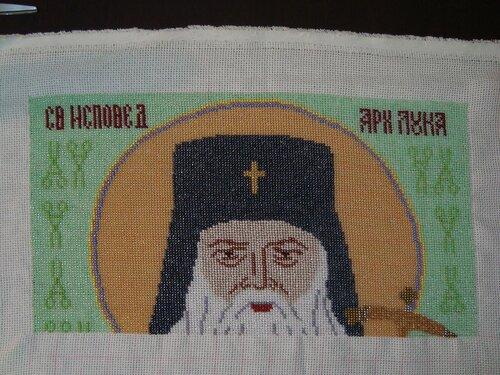Пять дней вышивки Святителя Луки