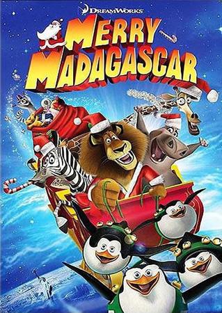 Рождественский Мадагаскар / Merry Madagascar (2009/DVDRip)