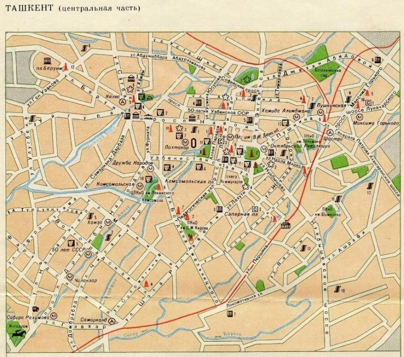 План Ташкента