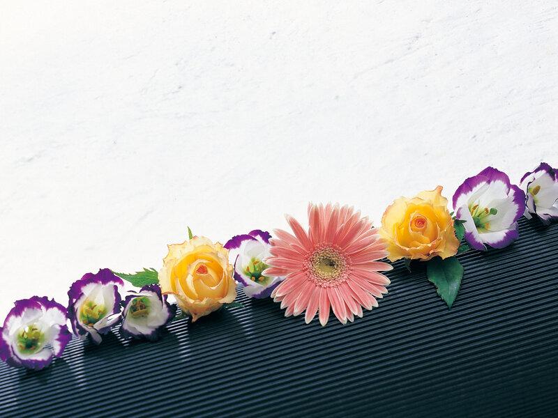 Гирлянда из цветов картинки 7