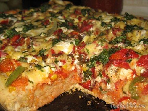 пицца рецепт в домашних условиях в духовке из дрожжевого теста