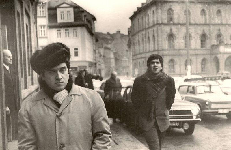 Станислав Садальский, Михаил Филиппов. Берлин, 1972
