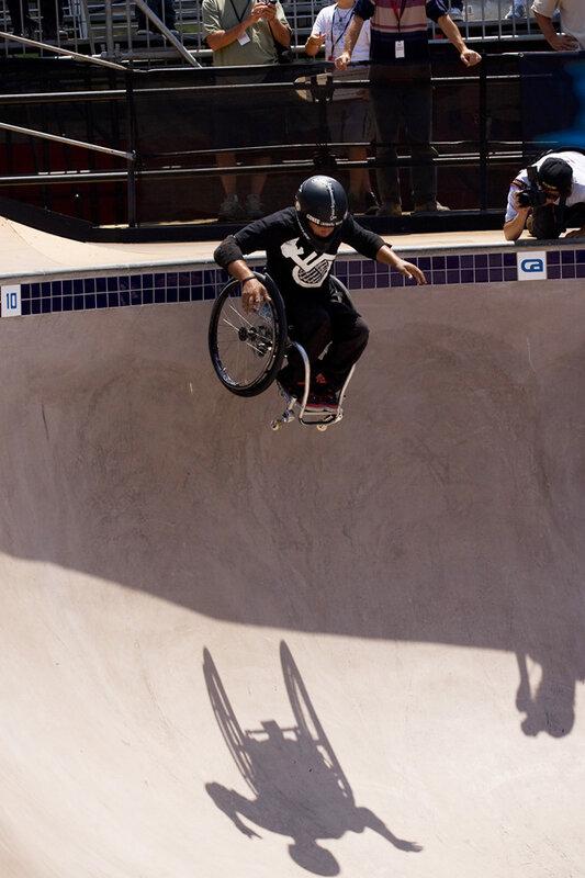 экстремальный спорт в инвалидной коляске