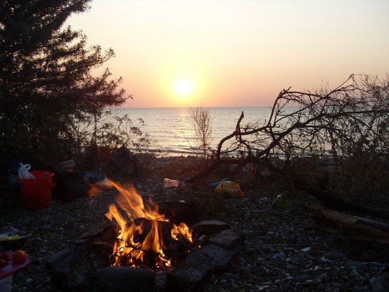 Огонь, Ахтарские закаты
