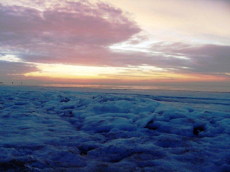Лёд Ахтарского залива (3)