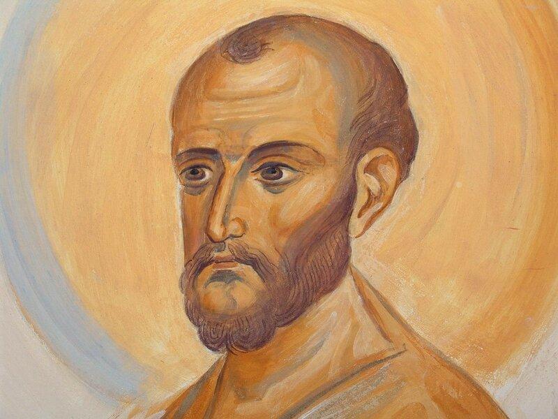 Святой Апостол Симон Зилот (Кананит). Иконописец А. Н. Солдатов.