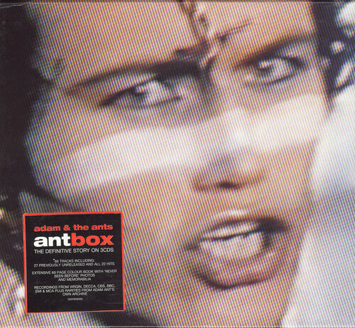 Adam And The Ants - Ant Box [3 CD set] (2000) APE