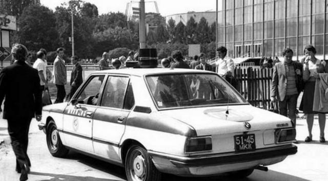Милиция на BMW – в Москве было и такое!