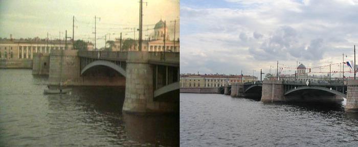 71. Полет льва с Биржевого моста прекрасен.