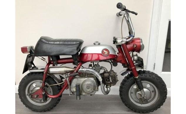 Минибайк Honda Z50 Джона Леннона продадут с аукциона