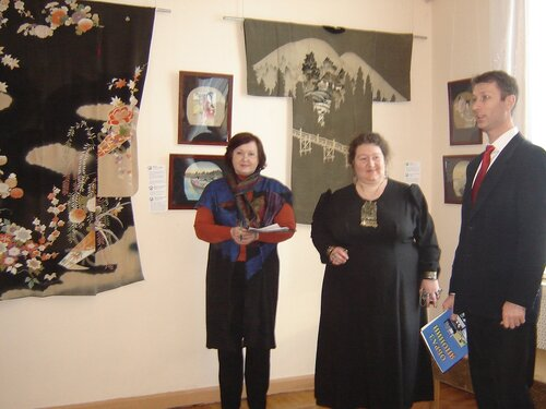 открытие выставки в Оренбурге