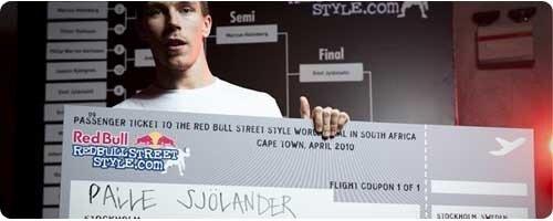 Вторая победа Палле на Red Bull Street Style Швеция