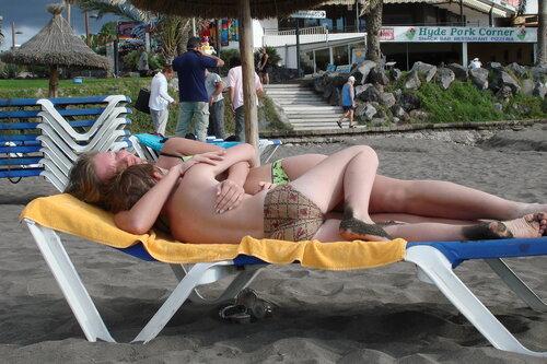 канарский пляж