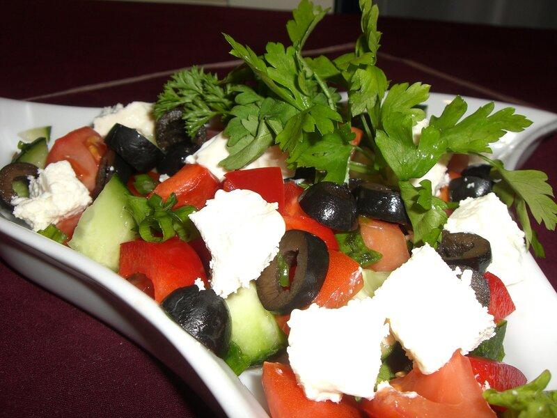 греческий рецепт салата с фото