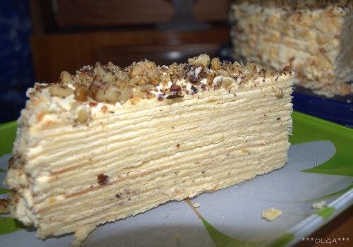 Фото рецепт торта идеал