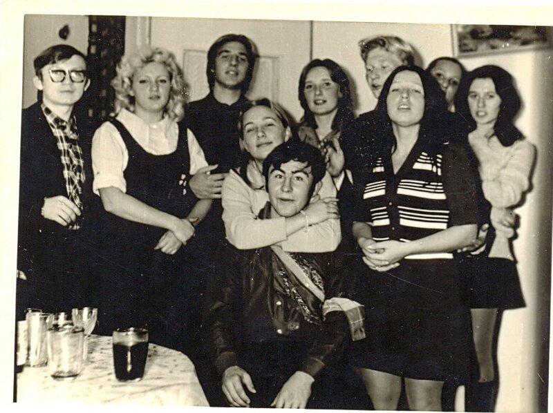 Проводы. 1974 г.