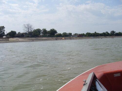 На яхте в Бейсуг