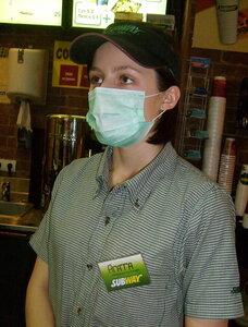 Маска на лице - защита от воздушно-капельных инфекций