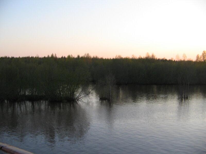 Волго-Балтийский канал, белая ночь