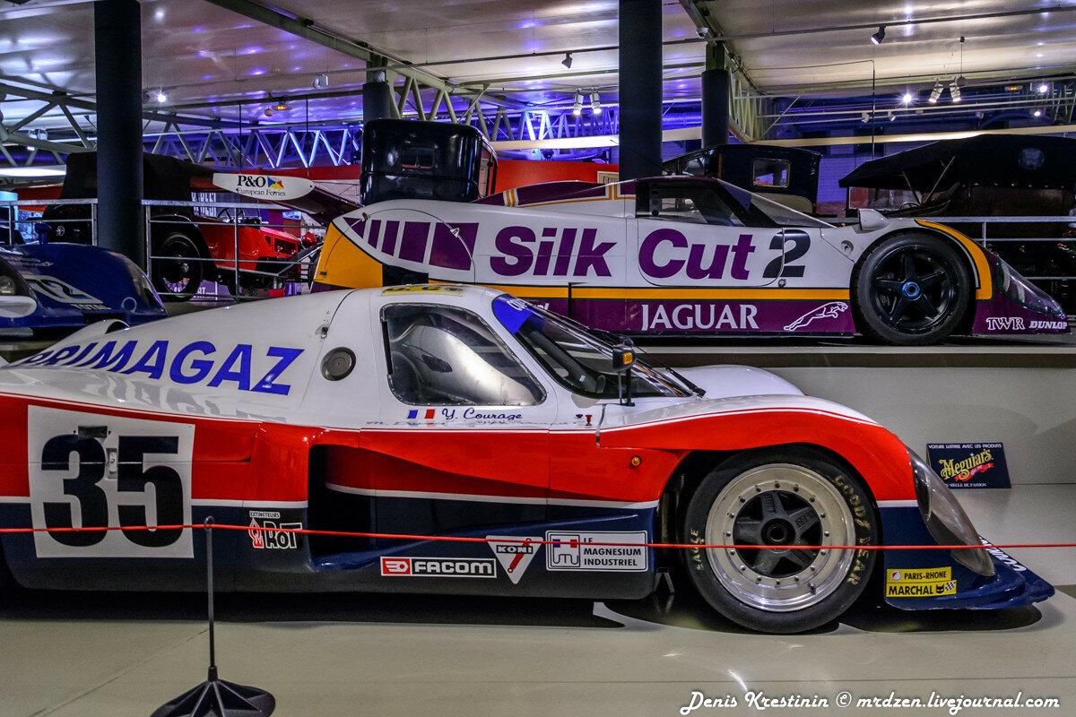 Jaguar XJR9 в музее Ле-Мана