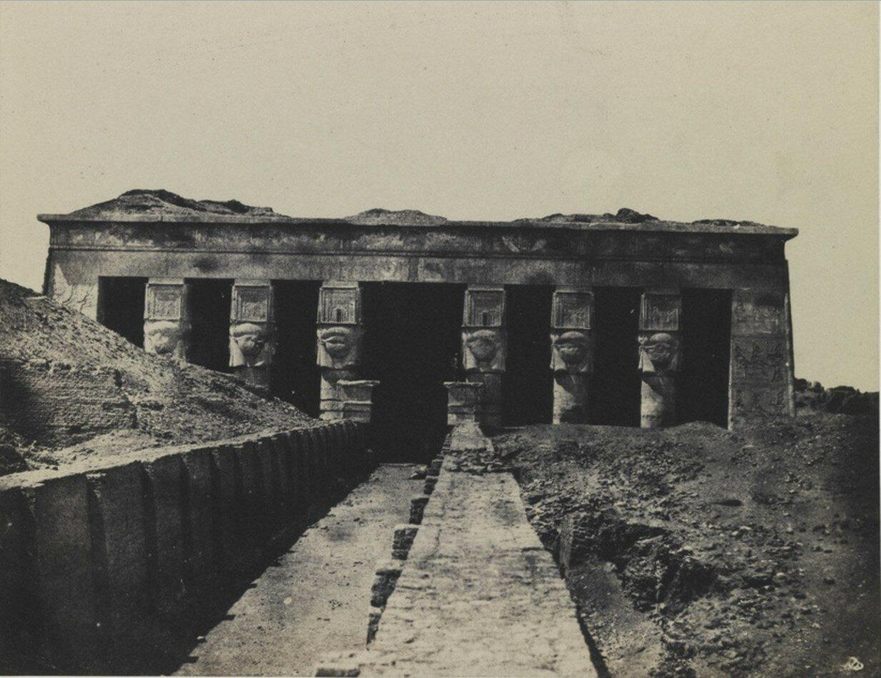1852. Фасад храма