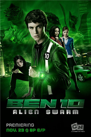 Бен 10: Инопланетный рой / Ben 10: Alien Swarm (2009/DVDRip)