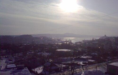 Владивосток, бухта Диомид