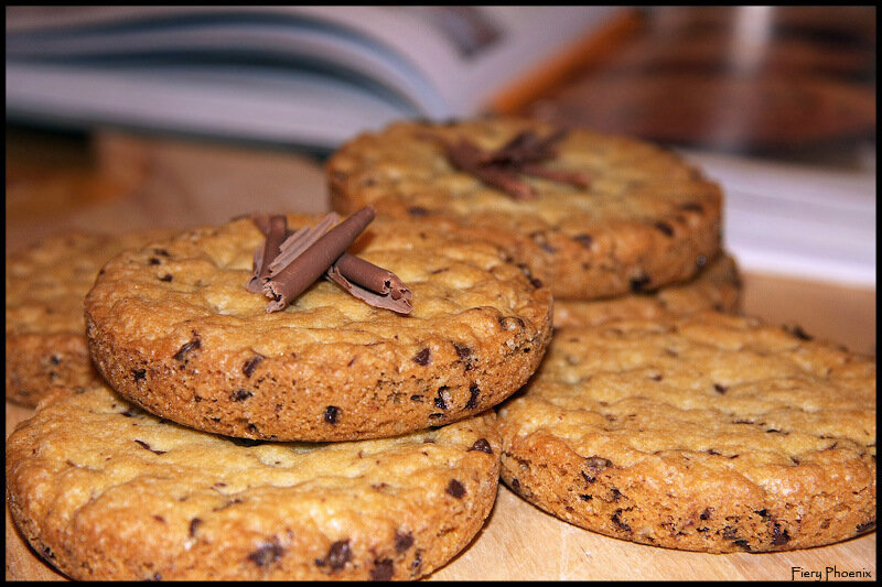Рецепт печенье с шоколадными каплями рецепт