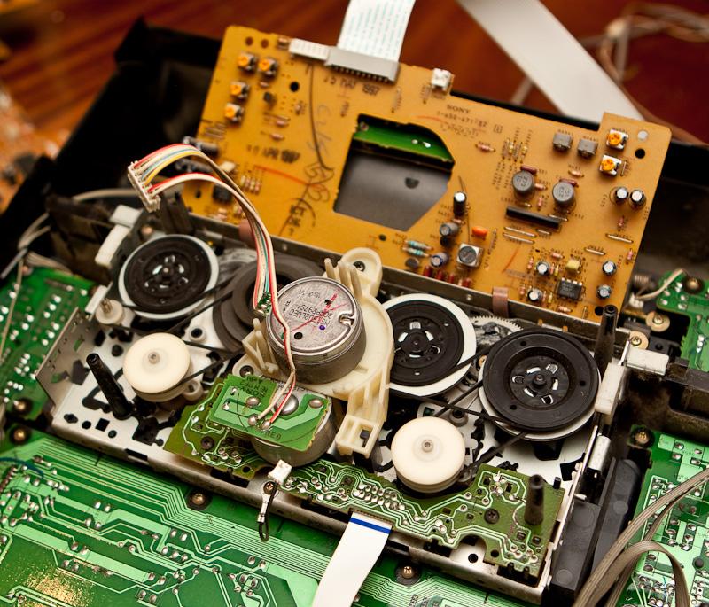 Снятие кассетного модуля