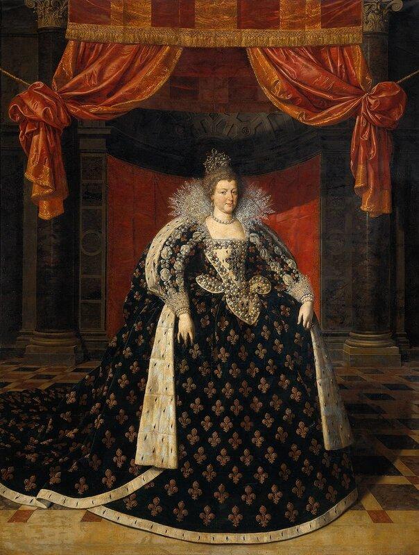 Мария Медичи.