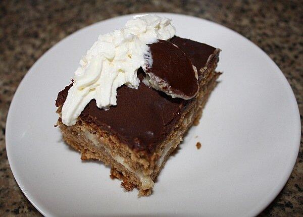 Ореховый торт (чешская кухня).