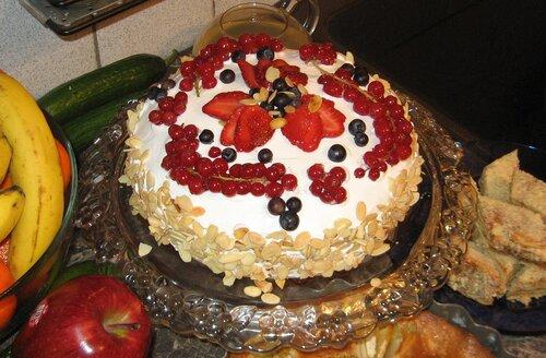 Торт фруктовый пай рецепт фото