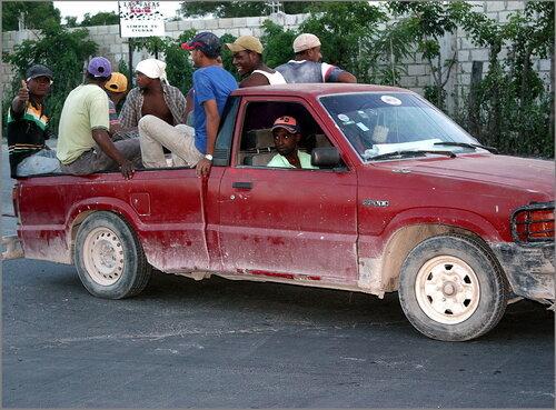 Тяжёлые гаитянские будни.