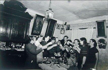 1947. Один мужчина на пять женщин. Послевоенная статистика.